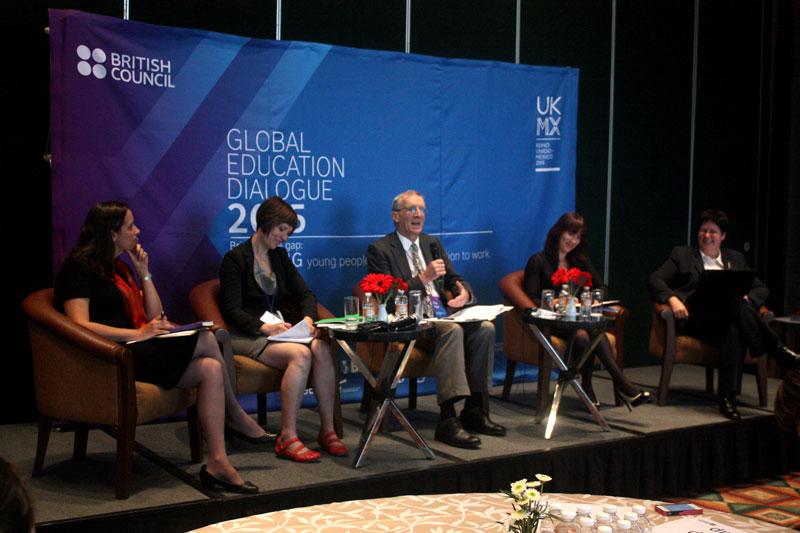 Inauguración de Diálogos Globales para la Educación Superior, organizada por el British Council