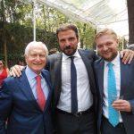 Ciro Nucci, Guido Iannelli y Roman Tkachov