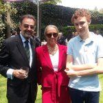 Víctor Stewens, Loli Rigoletti y Fernando Cervantes