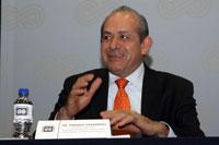 Enrique Fernández Fassnacht, nuevo director general ejecutivo del Instituto Politécnico Nacional. Foto: Archivo AMC