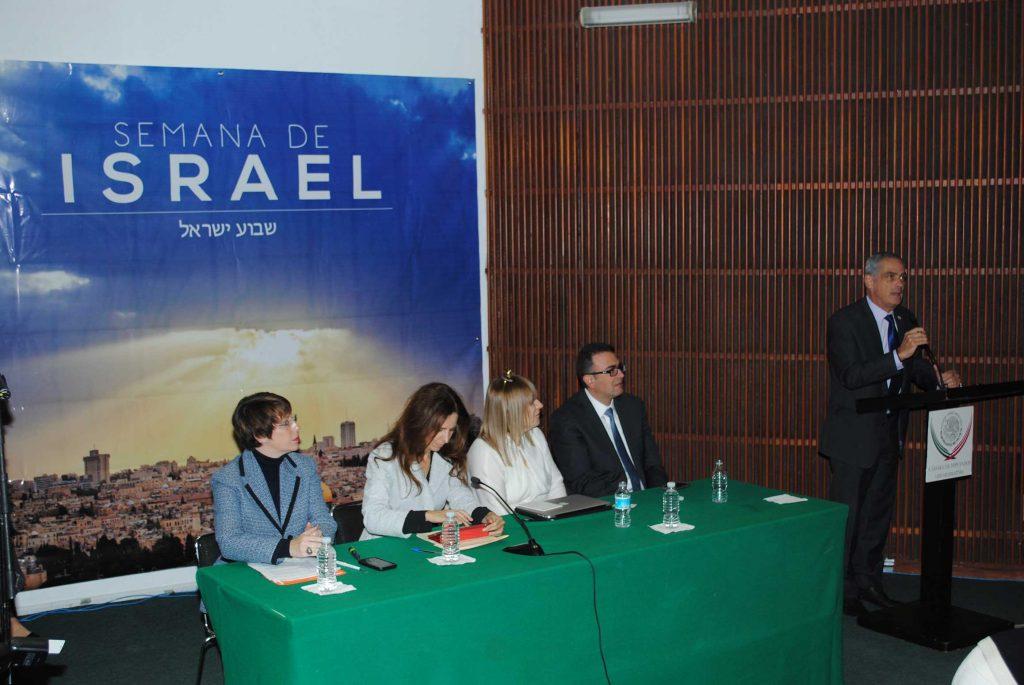Jonathan Peled realizó la inauguración oficial de la Semana de Israel en la Cámara de Diputados. Revista Protocolo Copyright©