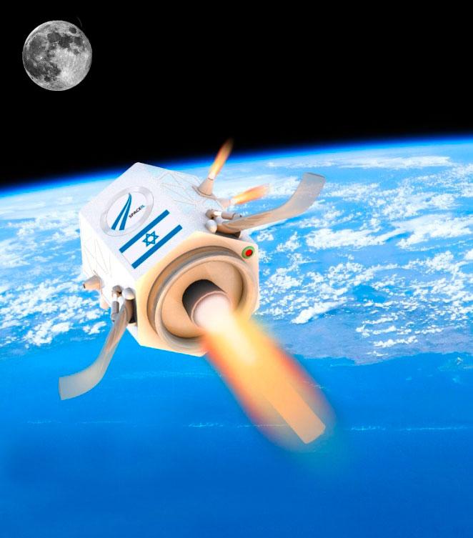 Israel con su tecnología, crea, fabrica y lanza sus propios satélites espaciales