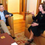 Embajadora Jacobson visitó Matamoros