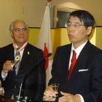 Akira Yamada, embajador de Japón, brindó por los homenajeados y el éxito de la relación diplomática entre su país con México. Revista Protocolo Copyright©