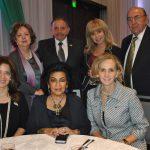 Sentadas: María Said, Elsa Espinosa y Elizabeth Macías; de pie: Carmen Rascón, Felipe Guaida, Wendy Coss y Faris Al-atrash