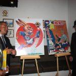 Caricaturistas exponen en cantina La Demetria