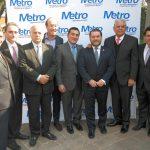 Comida de inicio de año de La Metro
