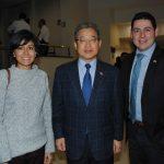 Patricia Contreras, Byoung Jin Han y Juan Héctor Algrávez