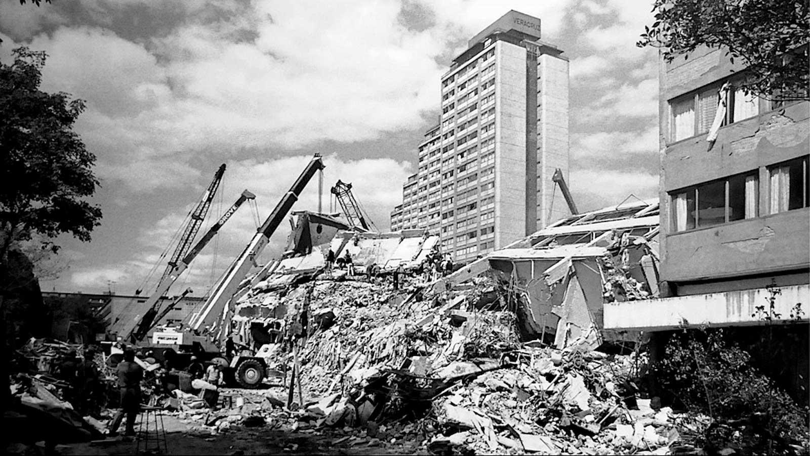 Derrumbe del edificio Nuevo León, terremoto de 1985 en la ciudad de México