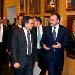 Luis Videgaray se reúne con empresarios mexicanos clave en relación con EU