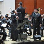 Magno concierto para festejar aniversario de agrupaciones musicales castrenses