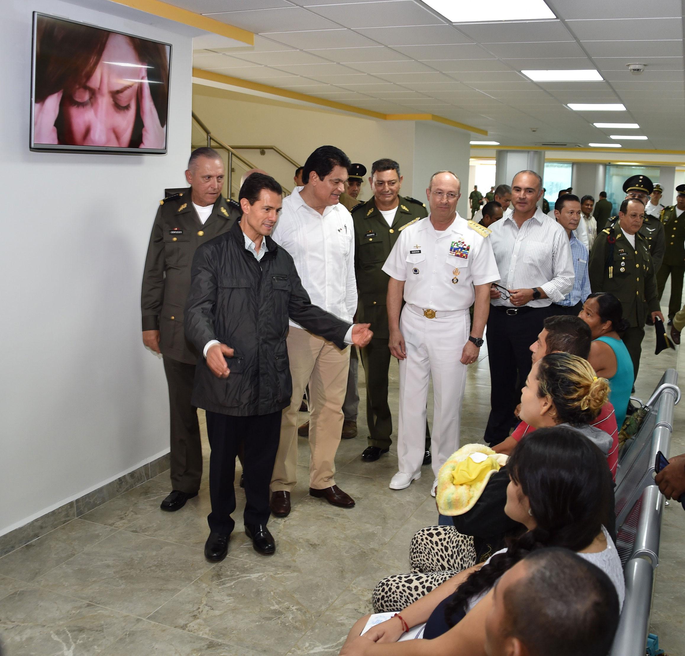 Inauguran En Mazatl U00e1n Hospital Militar