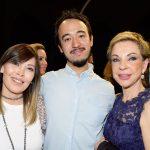Blanca de Santos, Armando Takeda y Martha Sahagún de Fox. Foto propiedad de la revista Protocolo Copyright©