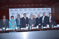 El canciller José Antonio Meade al frente de la delegación mexicana en la Federación de Cámaras Indias de Comercio e Industria