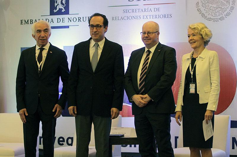 Los gobiernos de México y Noruega realizaron en la Secretaría de Relaciones Exteriores (SRE) el Norwegian Business Day