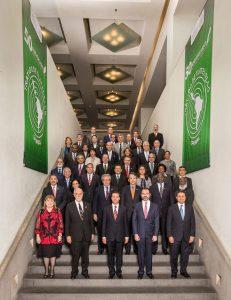 Foto oficial de la inauguración del encuentro del OPANAL