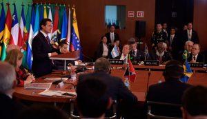El presidente Peña Nieto recalcó que frente a la coyuntura internacional, el mundo observa la unidad latinoamericana