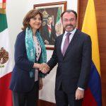 Colombia y México buscan fortalecer relación bilateral
