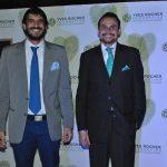 Arturo Montalván, director general de Yves Rocher México, y Jorge Gómez, director de ventas de Yves Rocher México