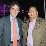 Omar Vidal, director general de WWF, y Eduardo Rendón