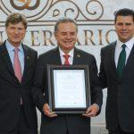 El actual secretario de Energía, Pedro Joaquín Coldwell, quien de 1988 a 1989 dirigió al Fonatur. Foto propiedad de la revista Protocolo Copyright©