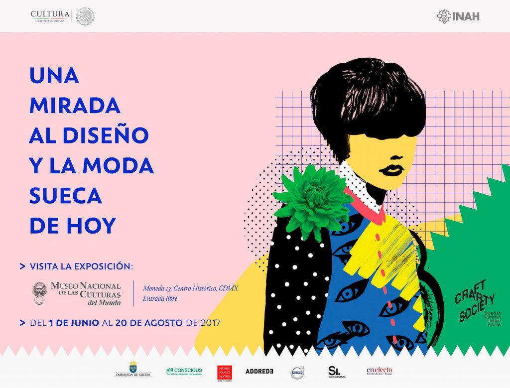 Diseño y moda de Suecia se exhiben en México