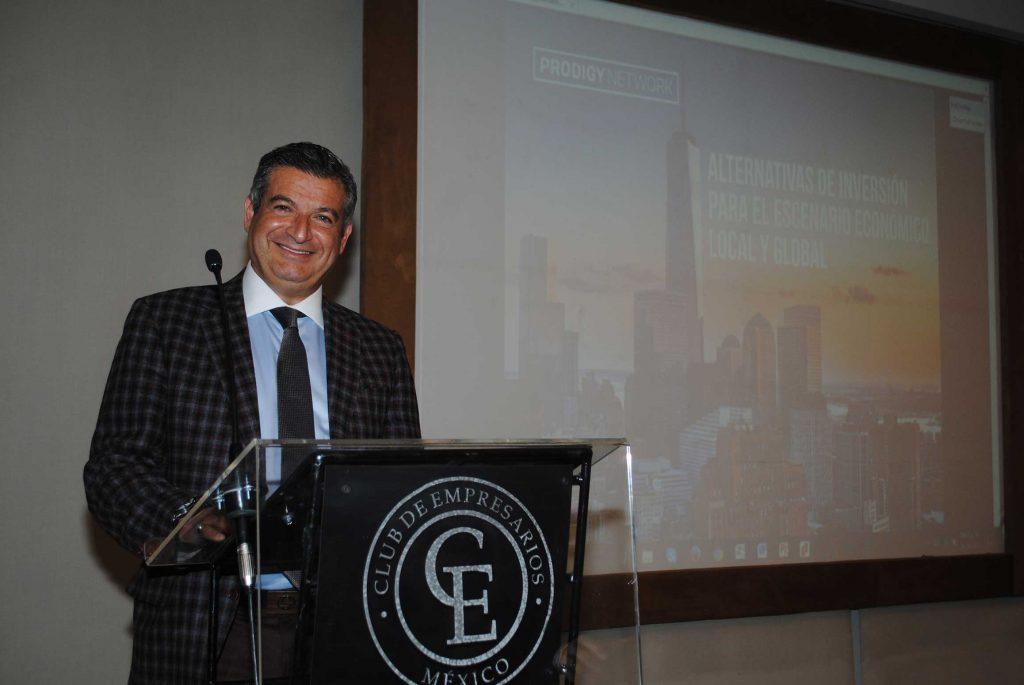 Meny Samra, presidente de la Cámara de Comercio México-Israel. Revista Protocolo Copyright