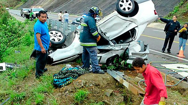 Al año mueren 16 mil 500 mexicanos por accidentes viales