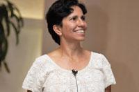 La doctora Susana Alaniz, del Instituto de Geociencias de la UNAM campus Juriquilla. Foto: Elizabeth Ruiz Jaimes/AMC