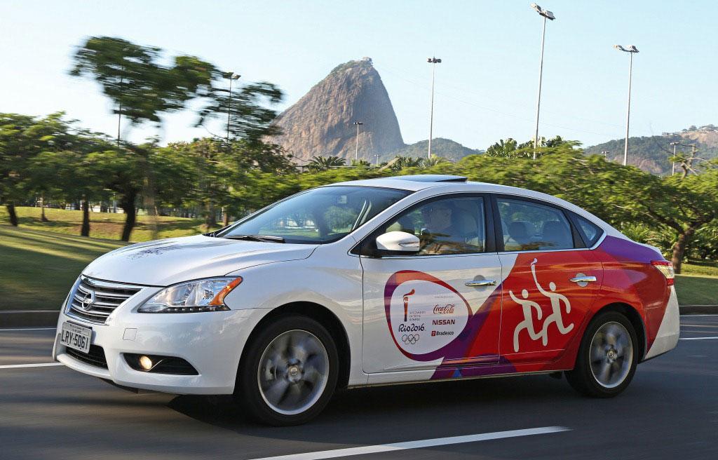 Nissan dará oportunidad a brasileños de trasladar la antorcha Olímpica