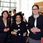 Rommanee Kananurak, embajadora de Tailandia; Elsa Espinosa y Sonia Hernández