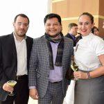 Jorge Castro, Mauricio Peñate y Lidia Ladurner