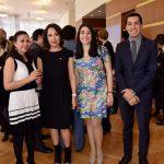 Itzel Salas, Carolina Rojas, María Esther Barrera y Víctor Moreno