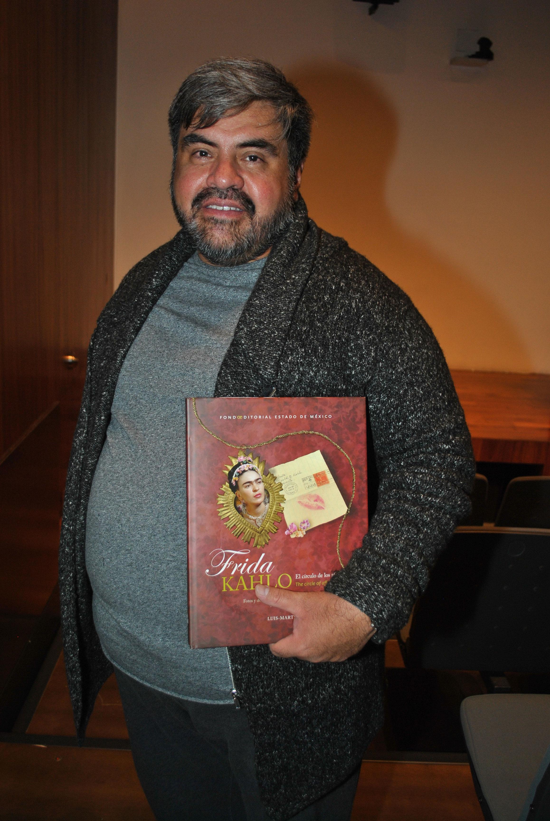 Luis Martín Lozano es el autor del libro Frida Kahlo. El círculo de los afectos