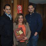 Ricardo Sánchez-Riancho, Ana Lilia Mendoza y Alonso Mercado