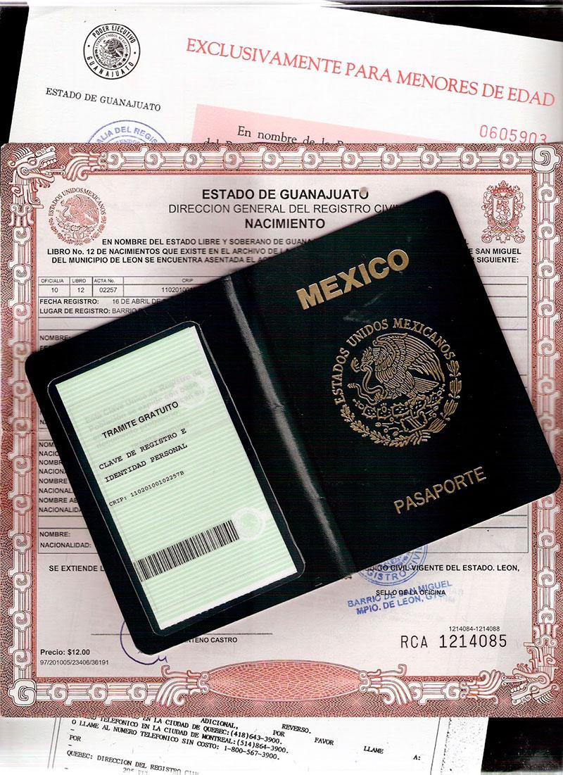 Oficinas consulares expedir n actas del registro civil for Oficinas registro civil