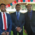 Ronmie, Srikar y Ujioal