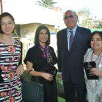 Vania de la Vega, Alma Cervantes, Daniel Beltrán y Alicia Girón