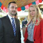 Jonut Valcu y Elena Torca