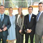 Rafael, Mercedes, María Andrea, Juan Pablo y Rafael Aguirre