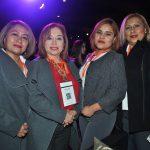 Silvia Trejo, Lilia González, Zayda González e Irasema Gálvez