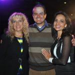 María Elena Zavala, Carlos Olea y Pamela Ibarra