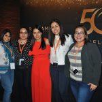 Ileana Chiñas, Mónica Sánchez, Diana García, Merith Estudillo y Margaret Morales