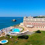 Hotel du Palais de Biarritz, Francia, para escribir una historia de amor