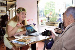 Lucie Mourcely, representante de comunicación del Hotel du Palais, promovió en México este bello lugar francés.