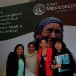 Graciela Saldaña Fraire, Minneth Medina, Beatriz Bugeda y Margarita Caso. Foto propiedad de la revista Protocolo Copyright©