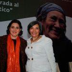 Leticia Gutiérrez e Isabel Studer Noguez. Foto propiedad de la revista Protocolo Copyright©