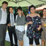 Carlos da Silva, Francisco Gama, Mayadevi Rodríguez, Miriam Matías y Monserrat Nahieli. Revista Protocolo Copyright©