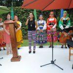 Estudiantes mexicanos de lengua portuguesa realizaron algunos cantos en portugués. Revista Protocolo Copyright©