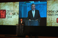 Jorge Kahwagi Gastine, presidente del Grupo Editorial La Crónica de Hoy